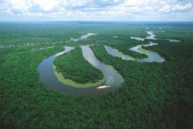 The-Meandering-Amazon-River-Near-Manaus-Brazil-HD-Wallpapers-Download